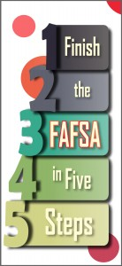 Finish the FAFSA in Five Steps brochure opens in a new tab