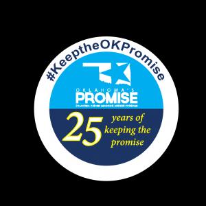 Oklahoma's Promise Day 2017 logo, #KeeptheOKPromise