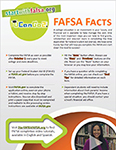 FAFSA Facts flyer.